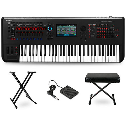 Yamaha Montage 61-Key Synthesizer Essentials Kit