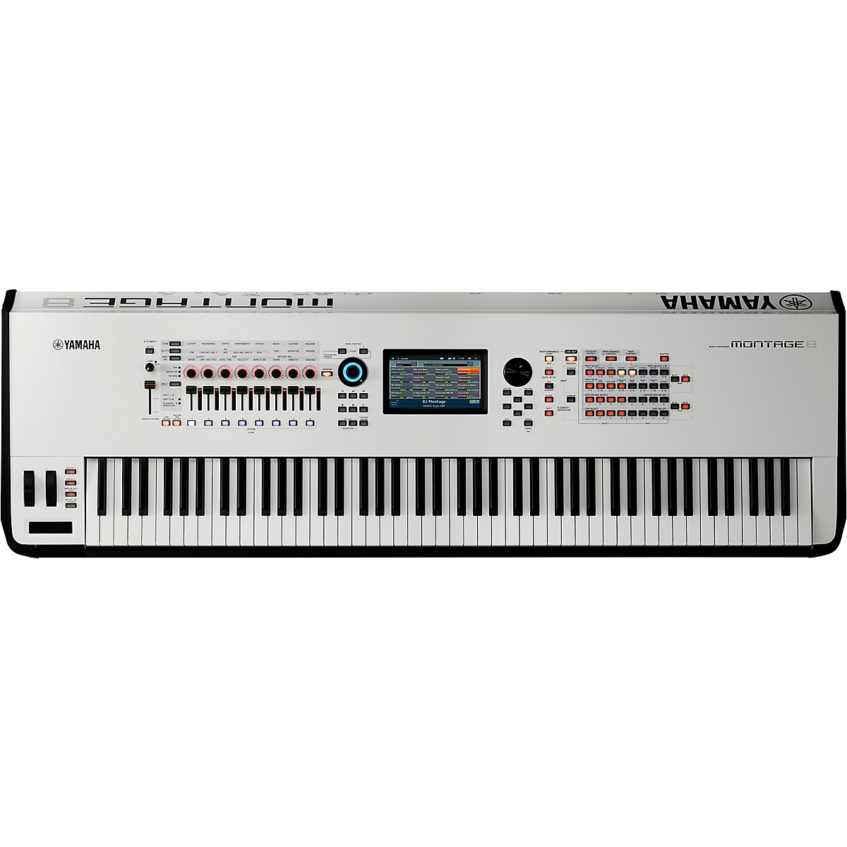 Yamaha Montage 8 88-Key Flagship Synthesizer White