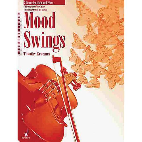 Schott Moodswings (7 Pieces for Violin and Piano) Schott Series
