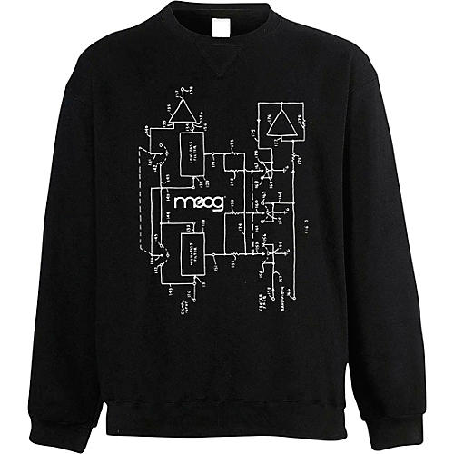 Moog Moogfest 2018 Diagram Sweat Shirt