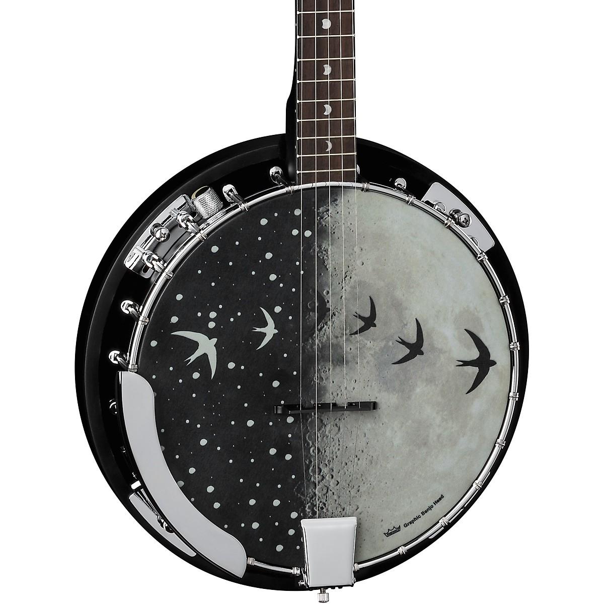 Luna Guitars Moonbird BGB 5-String Acoustic/Electric Banjo