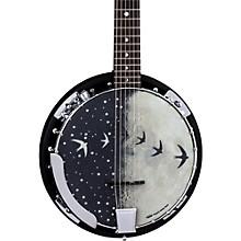 Luna Guitars Moonbird BGB 6-String Acoustic-Electric Banjo Level 1 Satin Black