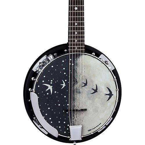 Luna Guitars Moonbird BGB 6-String Acoustic-Electric Banjo