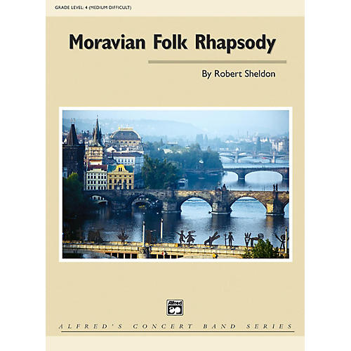 Alfred Moravian Folk Rhapsody Grade 4 (Medium Difficult)