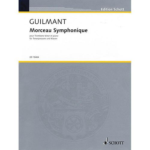 Schott Morceau Symphonique, Op. 88 (Trombone and Piano) Schott Series Softcover