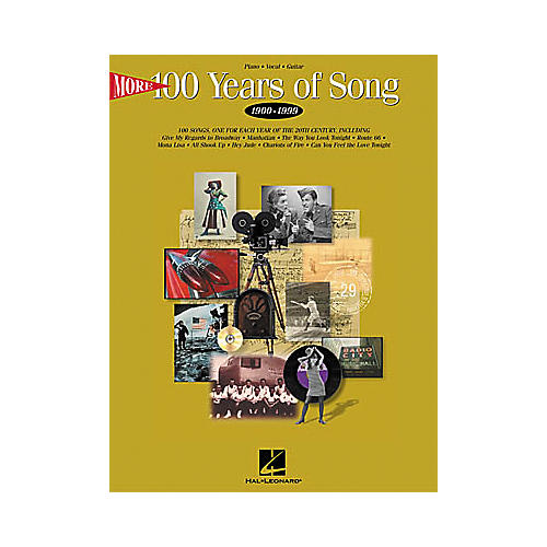 Hal Leonard More 100 Years of Song Piano, Vocal, Guitar Songbook