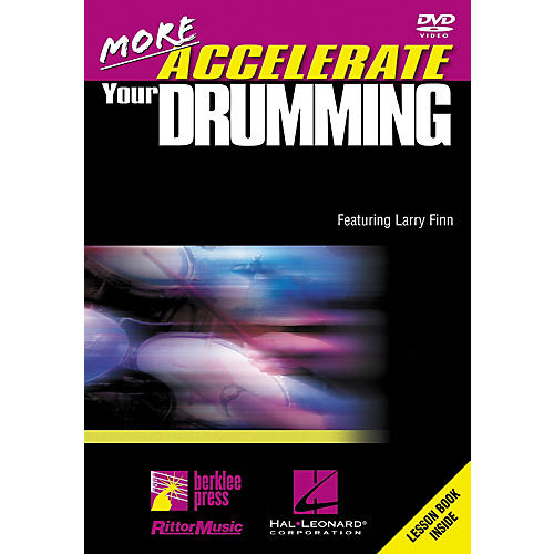 Hal Leonard More Accelerate Your Drumming DVD