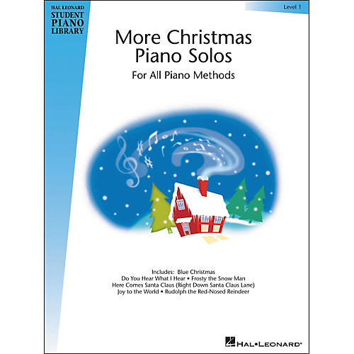 Hal Leonard More Christmas Piano Solos Book 1 Early Elementary Hal Leonard Student Piano Library
