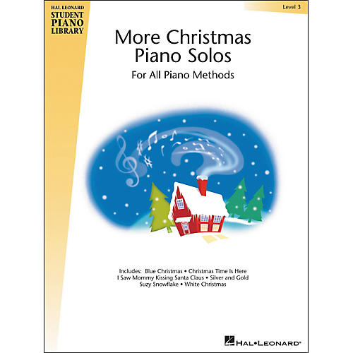 Hal Leonard More Christmas Piano Solos Book 3 Hal Leonard Student Piano Library