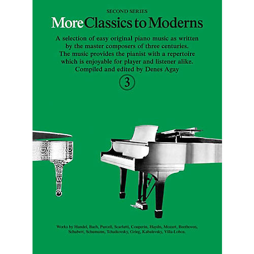 Music Sales More Classics To Moderns - Second Series Book 3