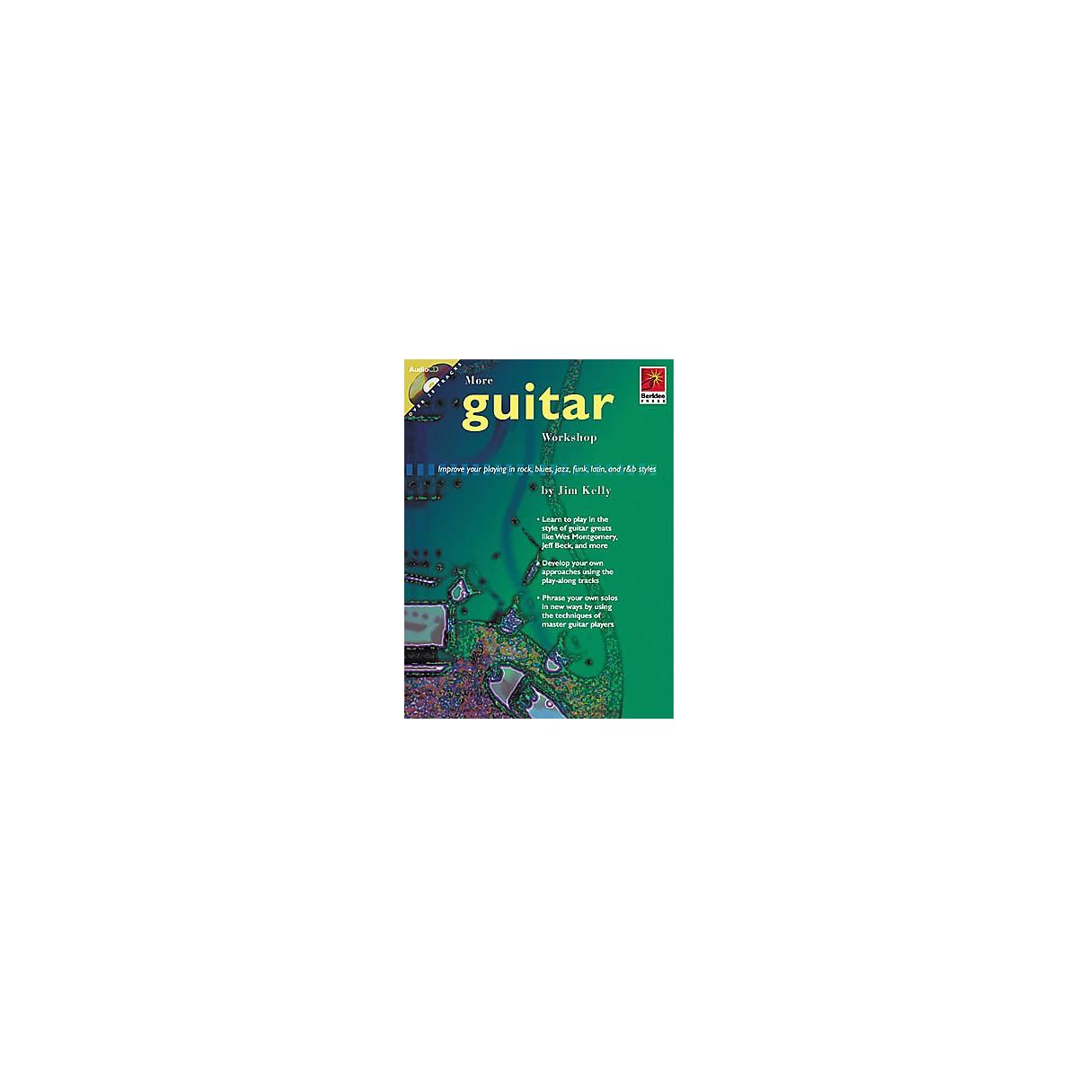 Berklee Press More Guitar Workshop (Book/CD)