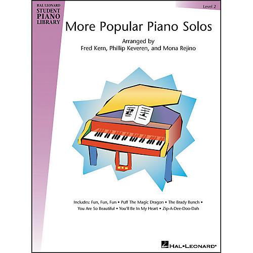 Hal Leonard More Popular Piano Solos Book 2 Hal Leonard Student Piano Library