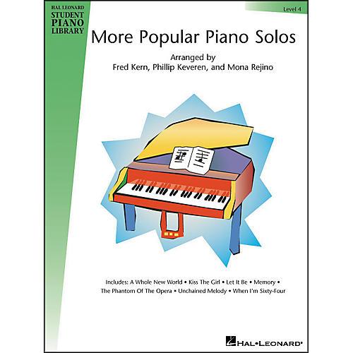 Hal Leonard More Popular Piano Solos Book 4 Hal Leonard Student Piano Library
