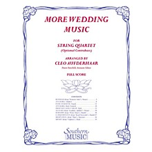 Southern More Wedding Music (Conductor Score) Southern Music Series Arranged by Cleo Aufderhaar