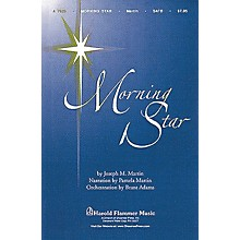 Shawnee Press Morning Star Score & Parts Arranged by Brant Adams