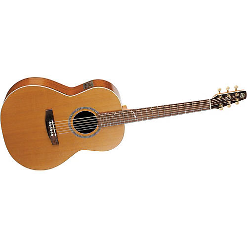 Seagull Mosaic Folk i-Beam Acoustic-Electric Guitar with Deluxe Case