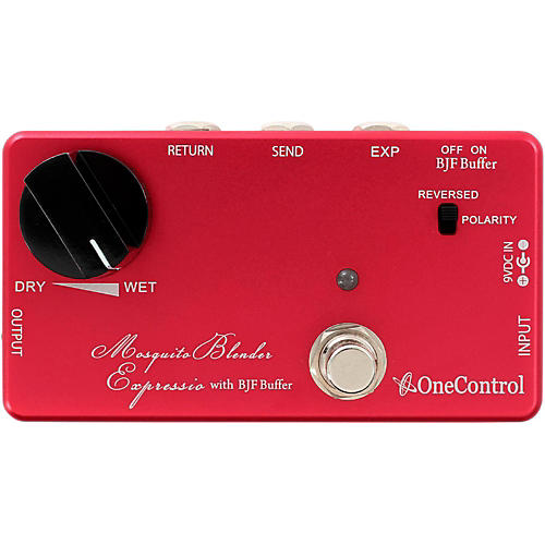 One Control Mosquite Blender Expressio Blender Pedal