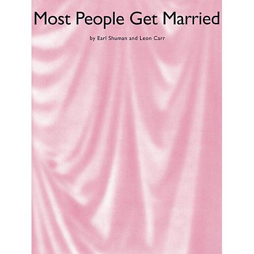 Music Sales Most People Get Married Music Sales America Series