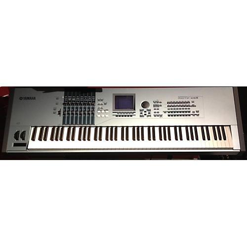 Used yamaha motif xs8 88 key keyboard workstation guitar for Yamaha motif xs8 specs