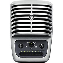 Shure Motiv MV51 Digital Large-Diaphragm Condenser Microphone with USB and Lightning Cables Included Level 1