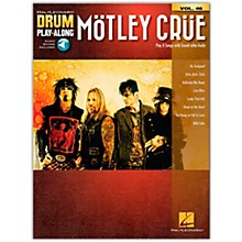 Hal Leonard Motley Crue (Drum Play-Along Volume 46) Drum Play-Along Series Softcover Audio Online by Motley Crue