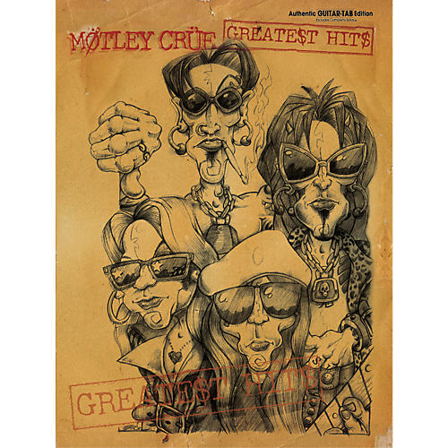 Alfred Motley Crue Greatest Hits Guitar Tab Songbook