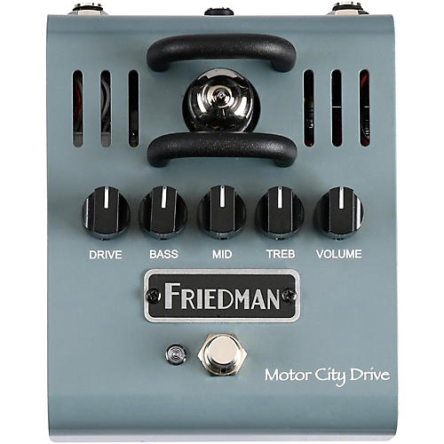 Friedman Motor City Drive 12AX7 Tube Overdrive Pedal