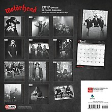 Browntrout Publishing Motorhead 17 Global Calendar