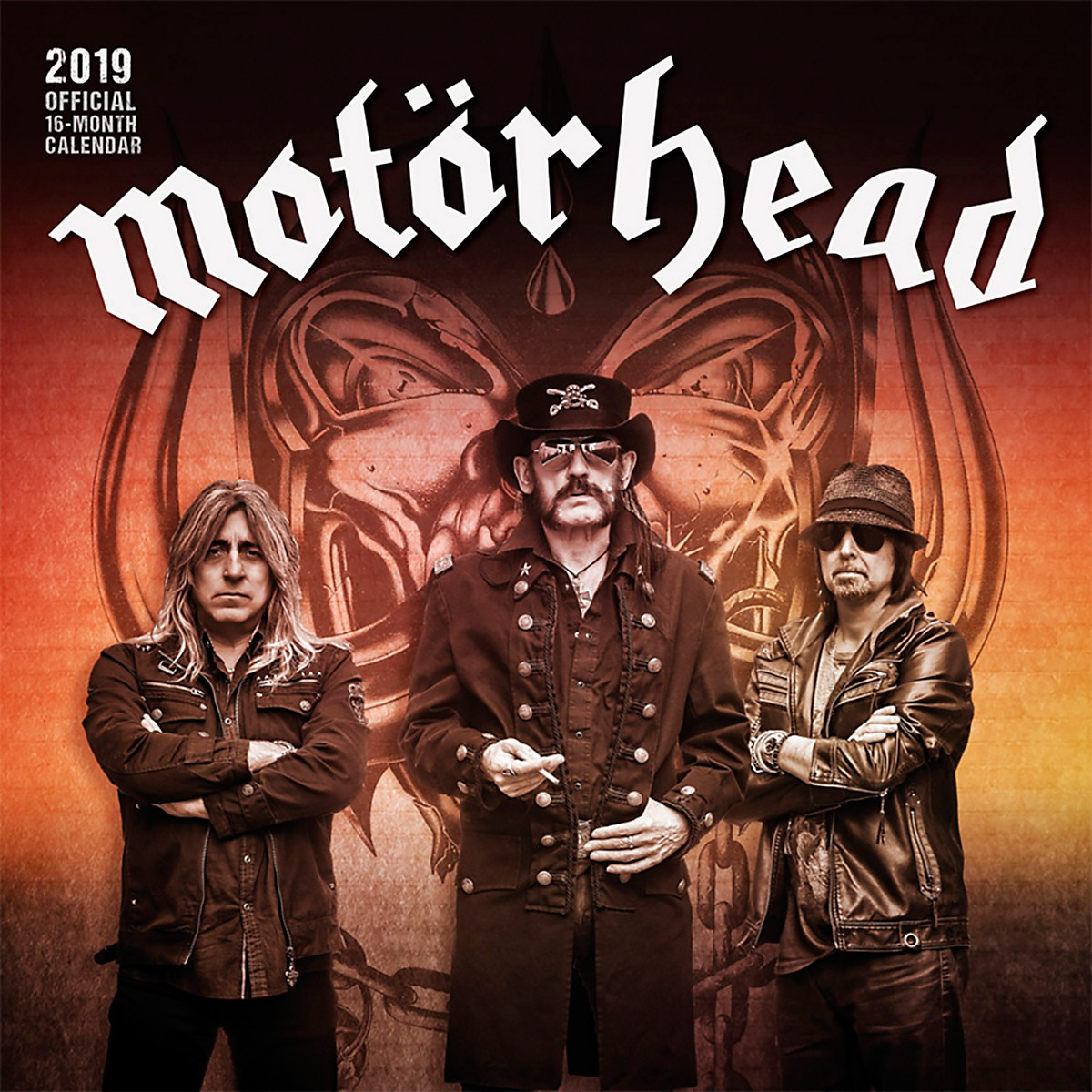 Browntrout Publishing Motorhead 2019 Calendar