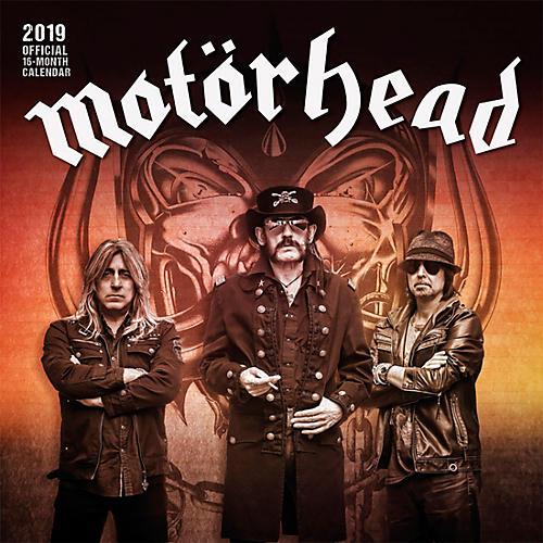 Browntrout Publishing Motorhead 2019 Calendar