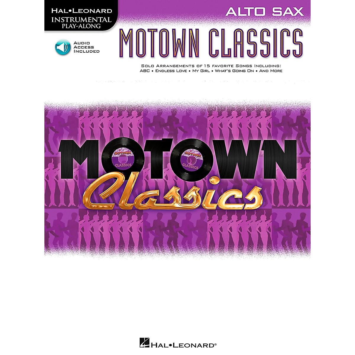 Hal Leonard Motown Classics - Instrumental Play-Along Book/Digital Download