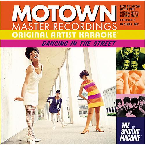 The Singing Machine Motown Dancing In The Streets Karaoke CD+G