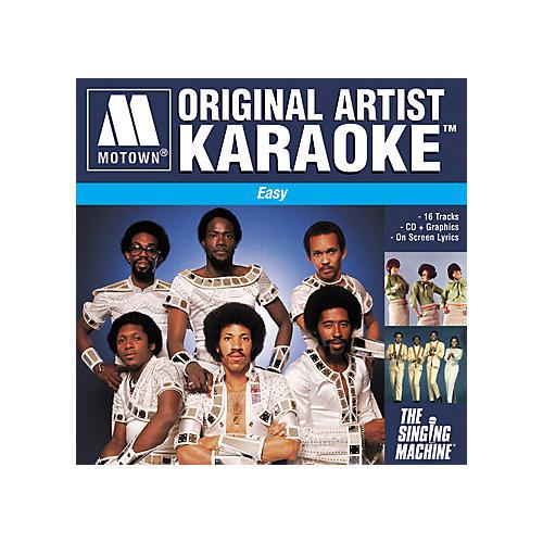 The Singing Machine Motown Easy Karaoke CD+G