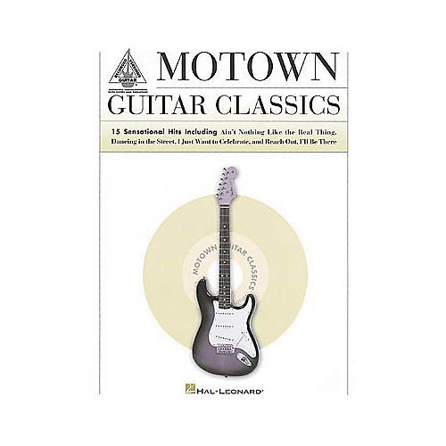 Hal Leonard Motown Guitar Classics Book