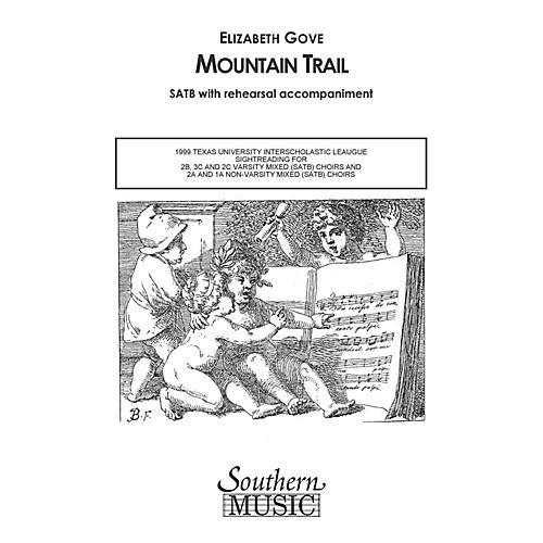 Hal Leonard Mountain Trail (Choral Music/Octavo Secular Satb) SATB Composed by Gove, Elizabeth