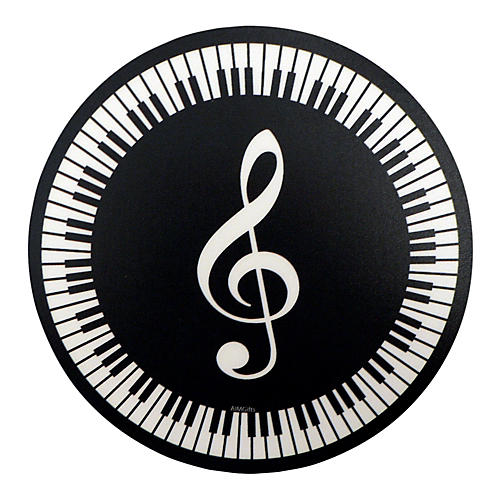 AIM Mouse Pad G Clef Round