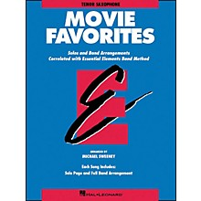 Hal Leonard Movie Favorites Tenor Saxophone