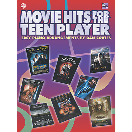 Alfred Movie Hits for the Teen Player Easy Piano