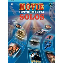 Alfred Movie Instrumental Solos for Trumpet Book/CD