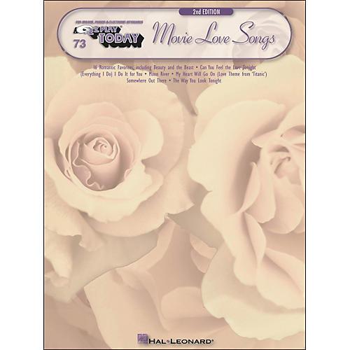 Hal Leonard Movie Love Songs 2nd Edition E-Z Play 73