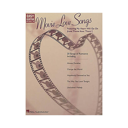 Hal Leonard Movie Love Songs Guitar Tab Songbook