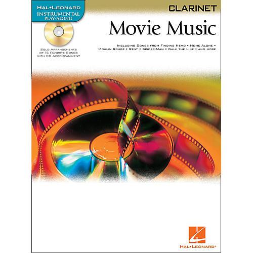 Hal Leonard Movie Music for Clarinet Book/CD