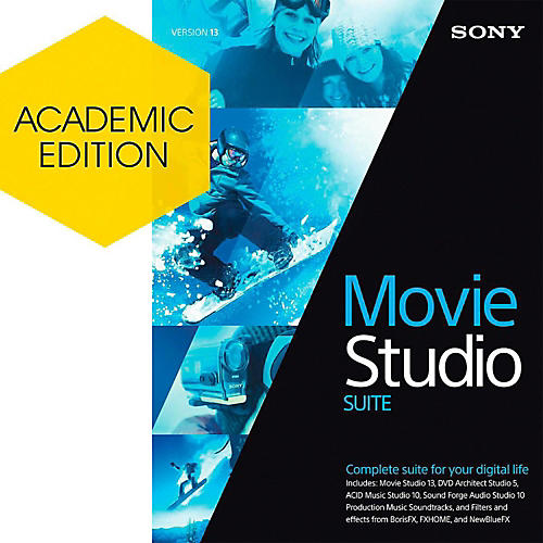 Magix Movie Studio 13 Suite - Academic Software Download