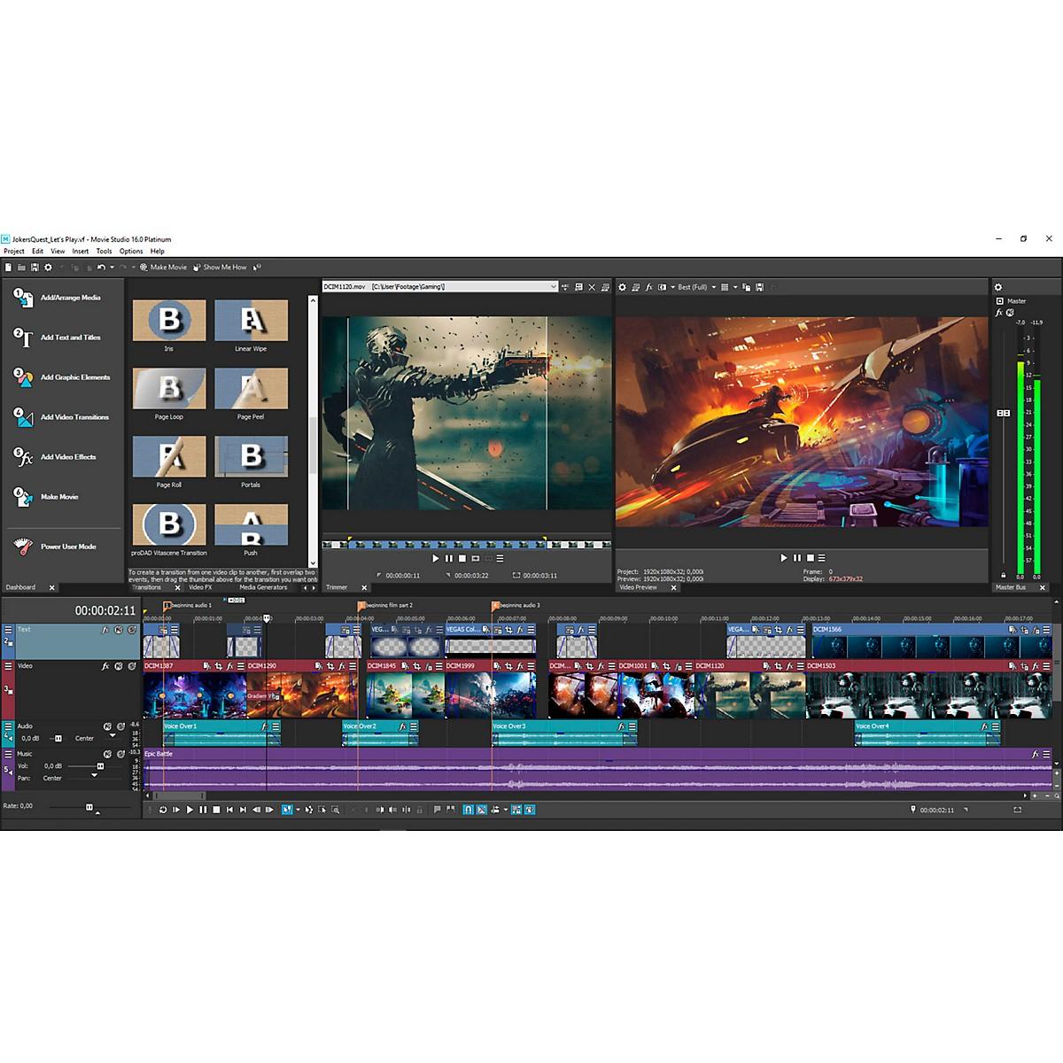 Magix Movie Studio 16 Suite