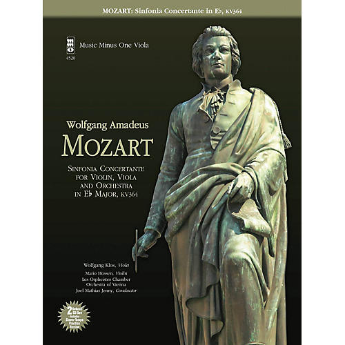 Music Minus One Mozart - Sinfonia Concertante in E-flat, KV364 Music Minus One Series Softcover with CD