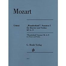 G. Henle Verlag Mozart - Wunderkind Sonatas, Vol 1, K6-9 Henle Music by Mozart Edited by Wolf-Dieter Seiffert