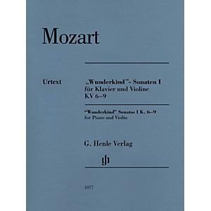G. Henle Verlag Mozart - Wunderkind Sonatas, Vol 1, K6-9 Henle Music by Moz... by G. Henle Verlag