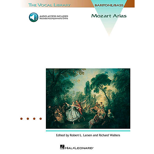 Hal Leonard Mozart Arias for Bass Book/CD
