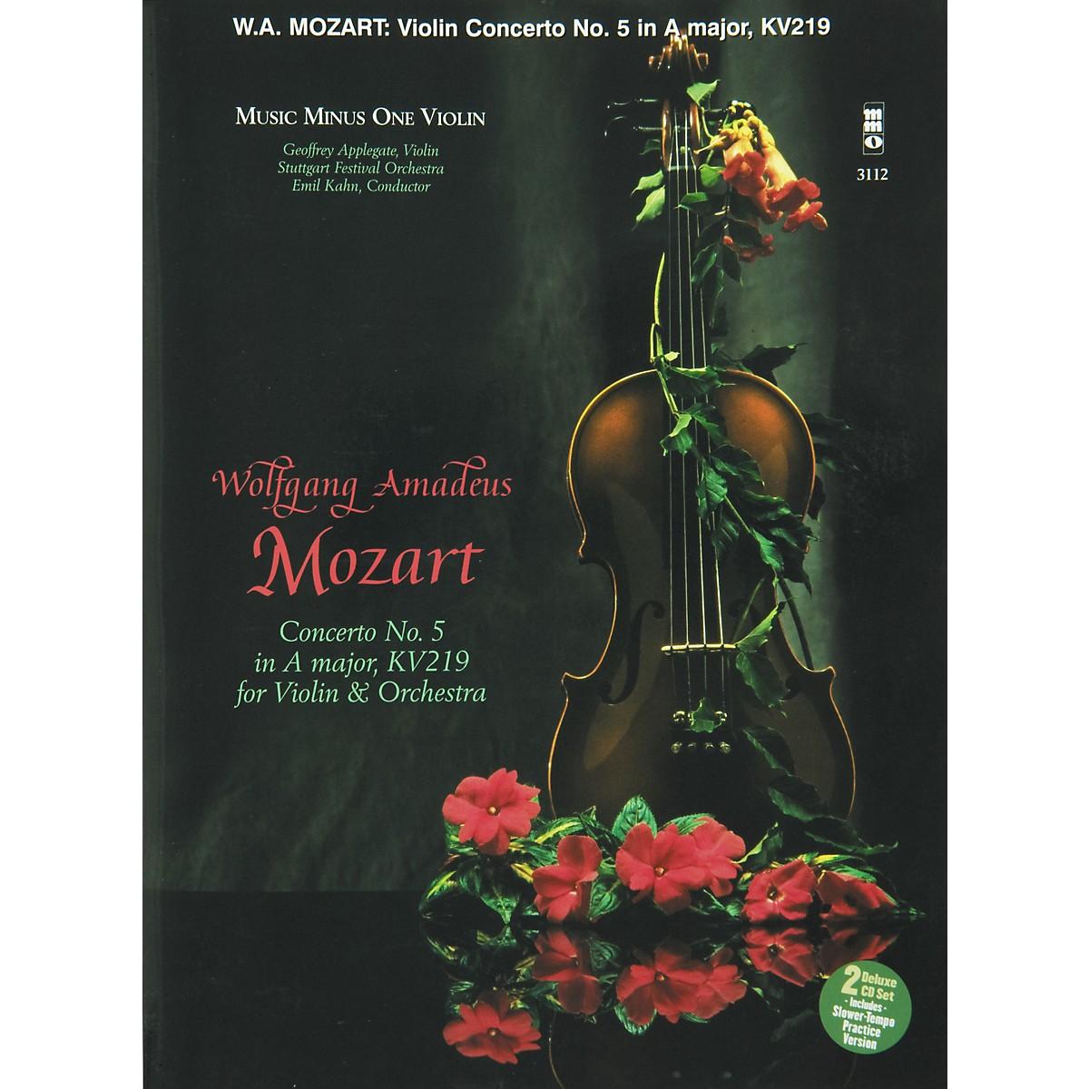 Hal Leonard Mozart Violin Concerto In A