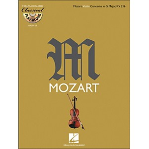 Hal Leonard Mozart: Violin Concerto in G Major, Kv 216 Classical Play-Along... by Hal Leonard
